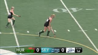 CTN SPORTS 2018 - Huron @ Skyline High School Field Hockey, September 7th
