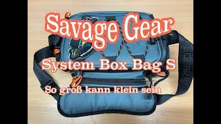 Fisch verliebt - Handtasche für echte Männer, Savage Gear System Box Bag S