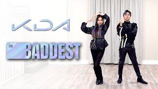K/DA - 'The Baddest' Dance Cover | Ellen and Brian
