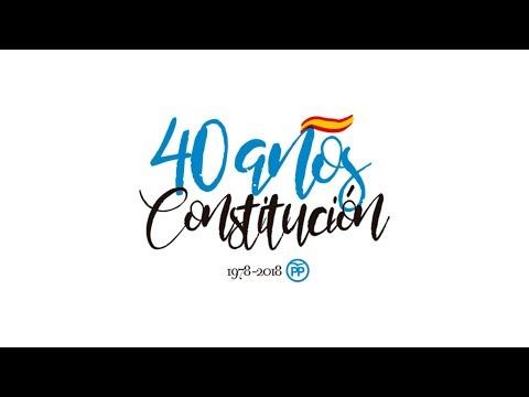 Mariano Rajoy - 40 años de Constitución