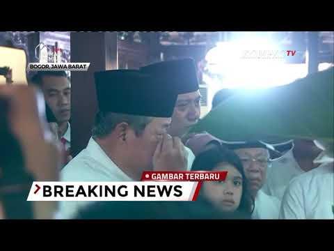 [FULL] Sambutan SBY Bikin Haru Saat Jenazah Ani Yudhoyono Disemayamkan di Pendopo Cikeas