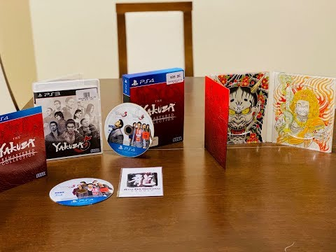 The Yakuza Remastered Collection Day One Edition Unboxing
