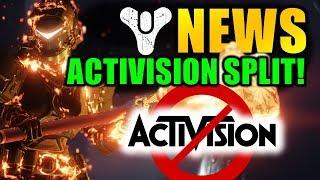Destiny 2 News: ACTIVISION & BUNGIE SPLIT! - Bergusia Forge Controversy!