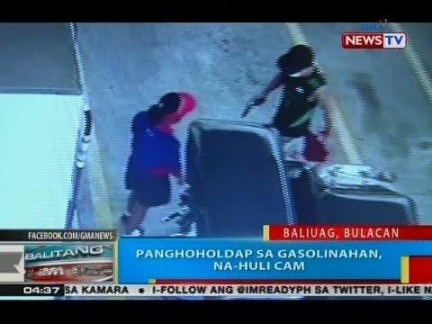 BP: Panghoholdap sa gasolinahan, na-huli cam