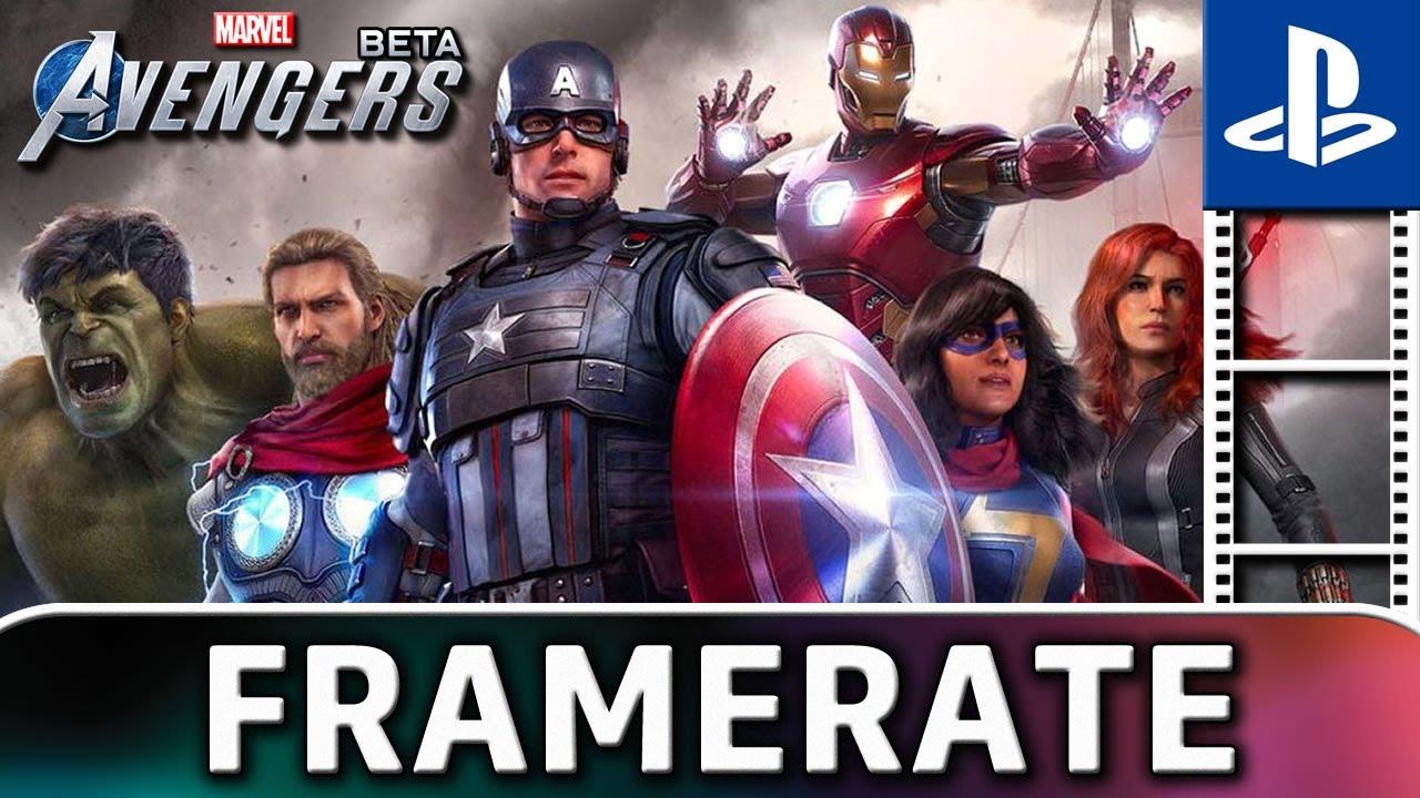 Marvel's Avengers | BETA Frame Rate TEST on PS4