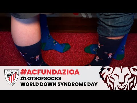 🧦 #LotsOfSocks | World Down Syndrome Day | ❤️ AC Fundazioa