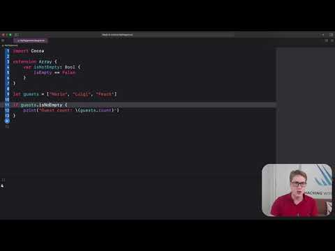 How to create and use protocol extensions – Swift for Complete Beginners thumbnail