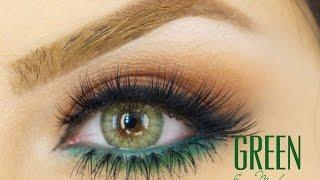 Green Eyes Smoky Eye Tutorial Makeup By Ani