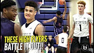 HEATED Battle Between High Flyers!! Nico Mannion & Josh Green vs Deon Stroud!! WCE Classic!