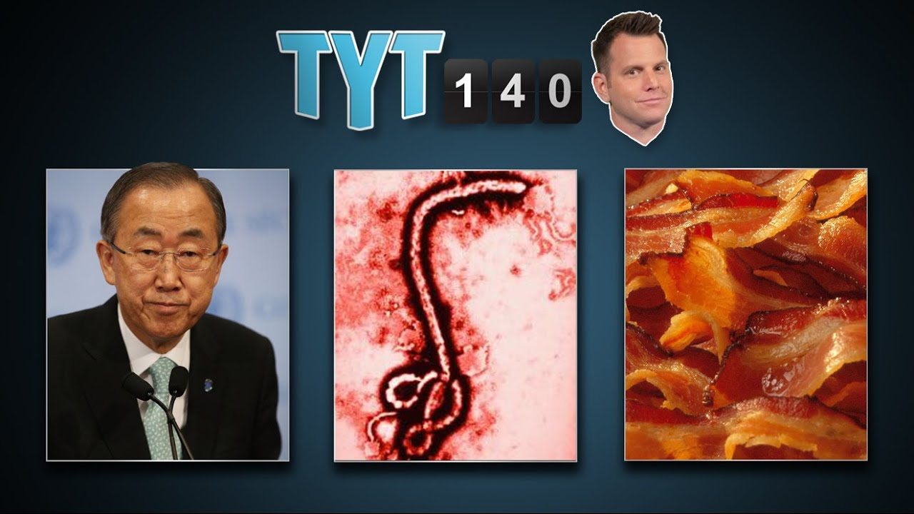 New Ceasefire, Ebola in the US, General Killed, CA Drought & Bacon Prices | TYT140 (August 5, 2014) thumbnail