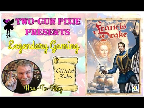 How-to-Play 012 - Francis Drake by Eagle-Gryphon Games