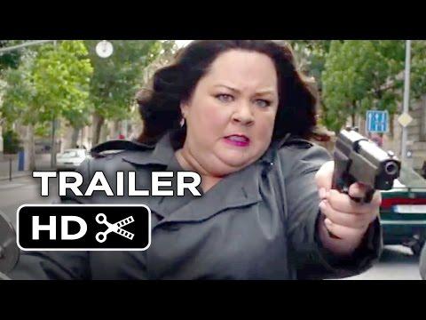 Spy Official Trailer #1 (2015) - Melissa McCarthy, Rose Byrne Comedy HD