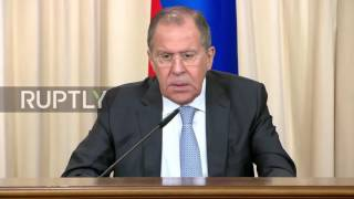 Russia: Lavrov says Democrats left political