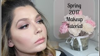 Spring Makeup Tutorial | 2017 Spring Beauty Trends