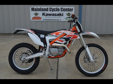 $7899:  2015 KTM Freeride 250R Overview and Review