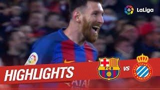 Resumen de FC Barcelona vs RCD Espanyol (4-1)