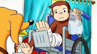 Curious George 🐵Housebound! 🐵Full Episode 🐵 HD 🐵 Cartoons For Children