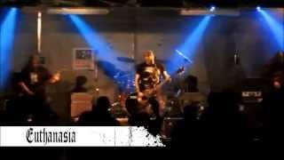 Video Euthanasia - Law for Burnt to Death  (Live - Teplická rocková no