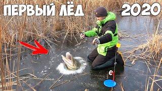 Зимняя рыбалка на щуку по первому льду