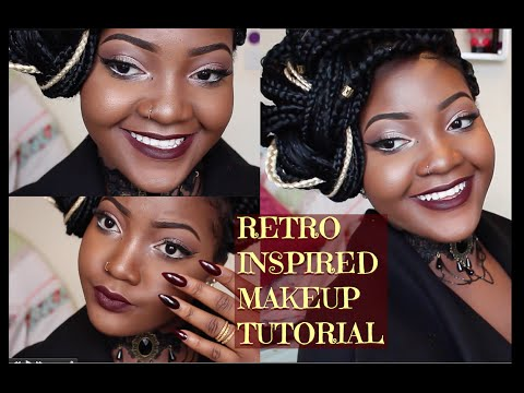 RETRO (VINTAGE)INSPIRED MAKEUP TUTORIAL