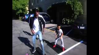 Boy Beats Usain in track ! Usain Bolt Surprises Boy on Ellen