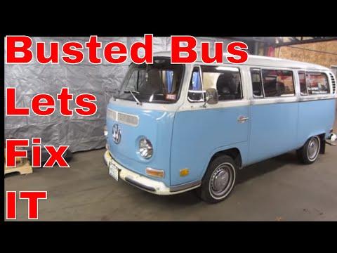 VW BUS Transmission Failure,  Help Me Fix it,