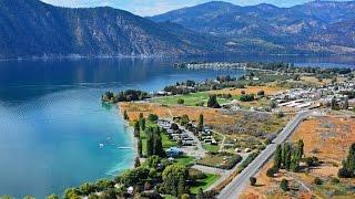 Scenic Tour Over Lake Chelan Washington