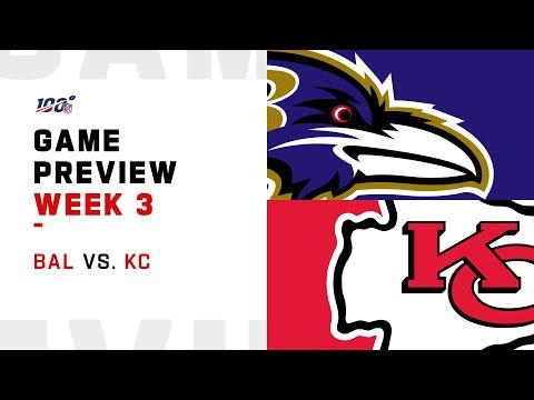 Baltimore Ravens vs. Kansas City Chiefs Week 3 NFL Game Preview
