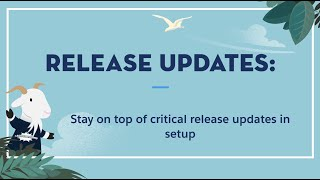 Summer '20 Release - Release Updates Page