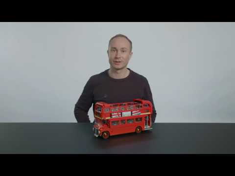 London Bus - LEGO Creator Expert - 10258 - Designer Video