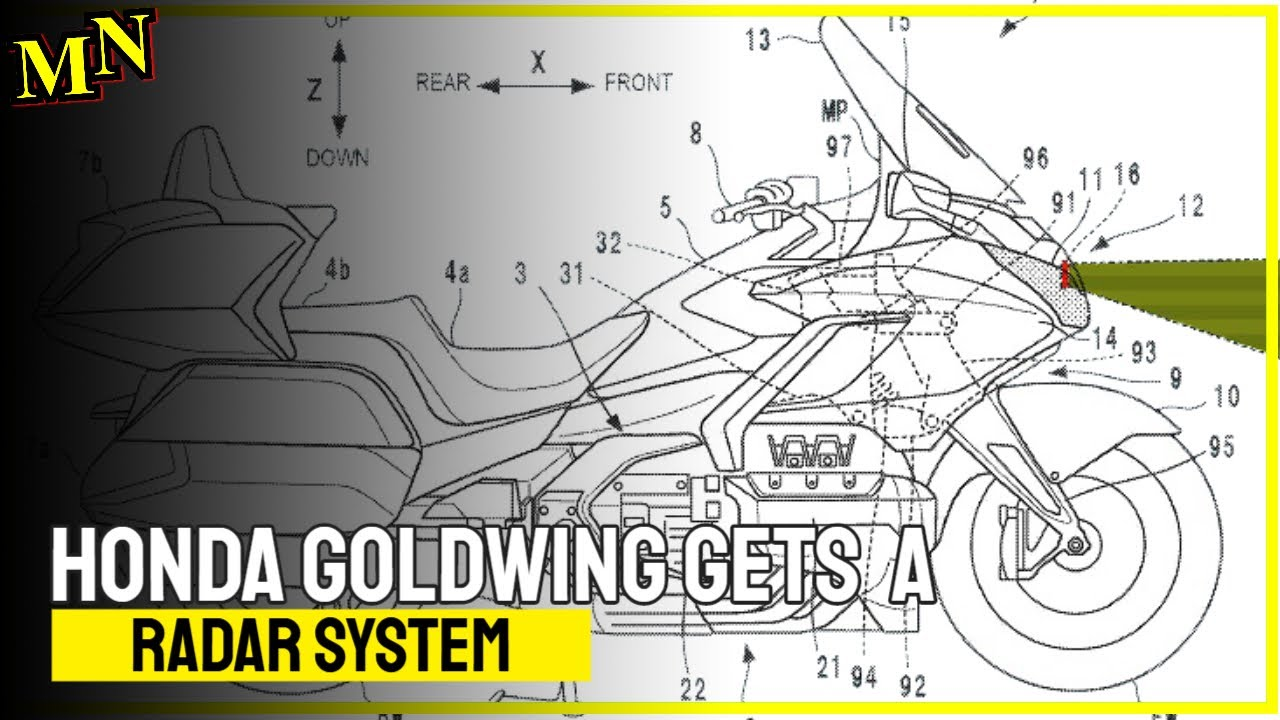 Honda Gold Wing gets radar system