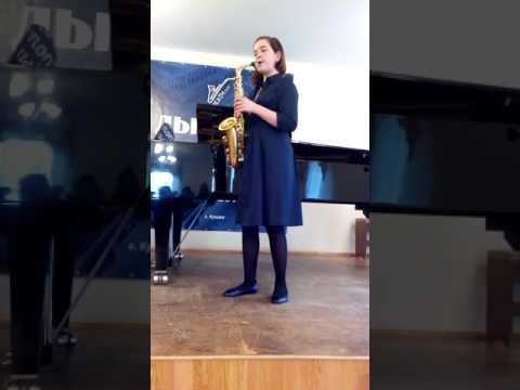 """Дарья Черкасская """"Юмореска"""" Г. Калинкович видео"""