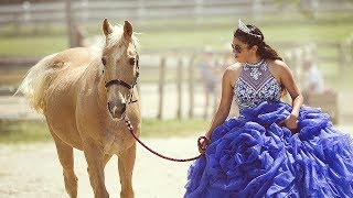 Kiana's Quinceanera - EPIC HORSE JUMPING