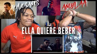 Anuel Aa - Ella Quiere Beber Ft. Romeo Santos Fvo Reaction