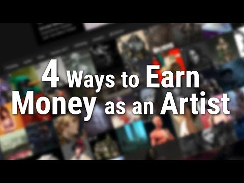 4 Ways to Make Money as an Artist
