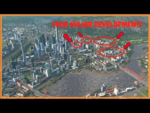 Major Downtown Development Projects | Cities Skylines