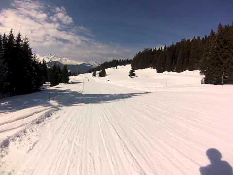 Chavannes to Les Folliets Ski Lift