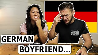 German Things My Boyfriend Does! (American Girlfriend Perspective)