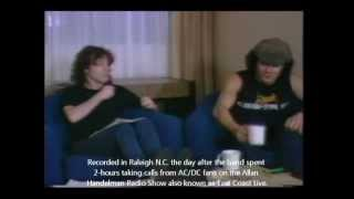 AC/DC's RARE Interview with Angus Young & Brian Johnson 1983