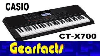 Casio CT-X700 Demo With Tips And Tricks