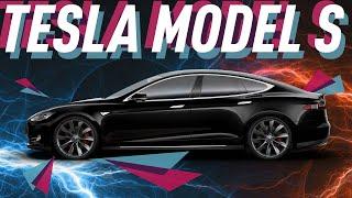 Смотреть онлайн Автомобиль Tesla model S: будущее в настоящем