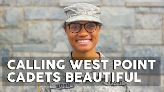 West Point cadets react to being called beautiful