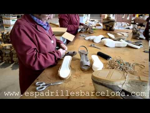 MAKING ESPADRILLES (Espadrilles Barcelona)