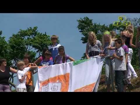 Kunstproject Parels aan de Maas - Vlaggen voor de Waai