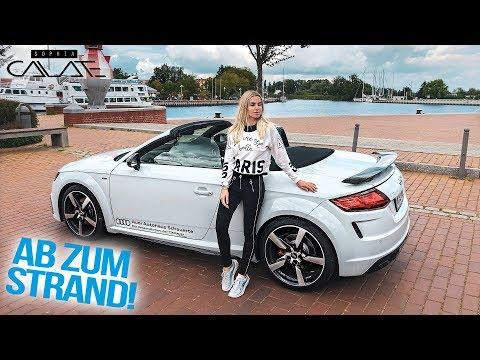 Mit dem Audi TT Roadster zum geheimen Waldstrand!