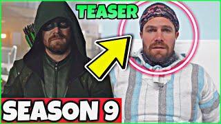 Arrow Season 9 TEASER! Stephen Amell Considered an ARROW SEASON 9!