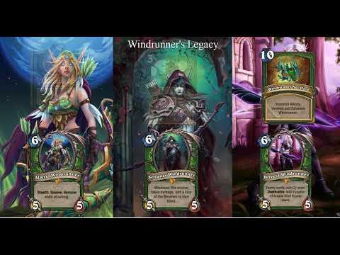 Windrunner's Legacy – Custom Hearthstone Legendary Spell