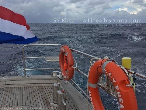 SY Rhea from La Linea to Santa Cruz November 2018