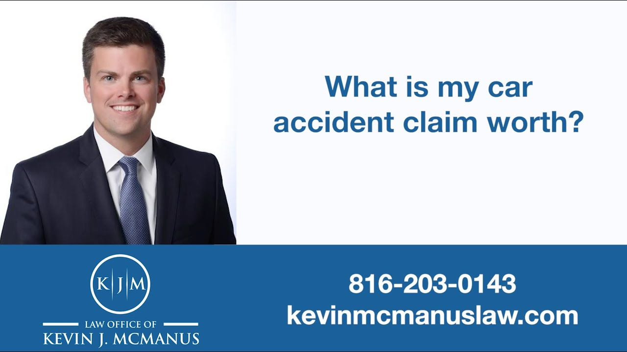 What is my car accident claim worth?