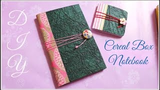 Best Out Of Waste | #Diy - Cereal Box Notebook